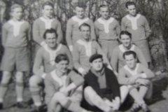 Die Erste Mannschaft 1954