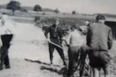 Arbeitseinsatz in der Steinau 1965