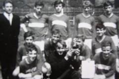 Turniersieger beim Schülerturnier in Fernbreitenbach, Schülermannschaft 1967