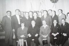 Die Funktionäre der BSG Lok Gerstungen 1970