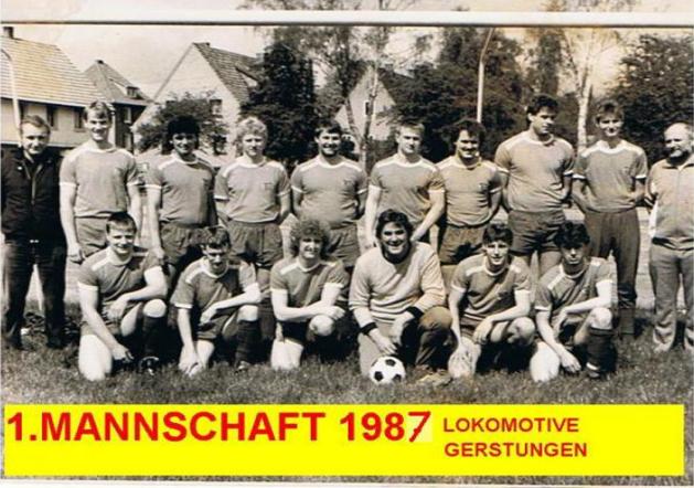 I. Mannschaft 1987