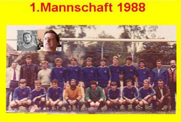 I. Mannschaft 1988