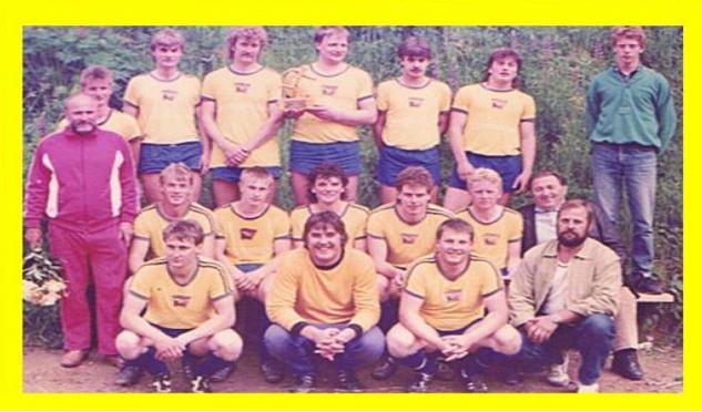 I. Mannschaft 1989