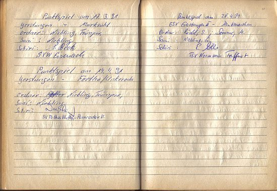 1991 im Platzordnernachweisbuch