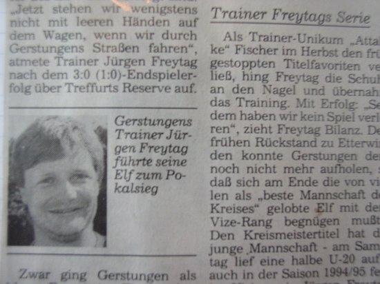 Der Erfolgstrainer Jürgen Freytag