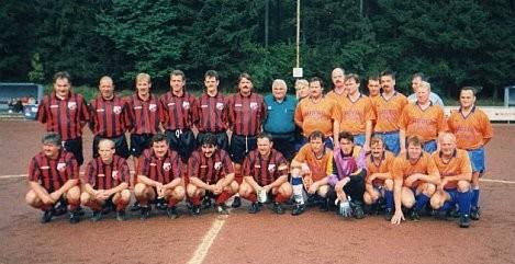 Alte Herren 1996 zu Gast in Westerwald