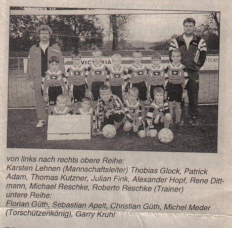 Unsere Jüngsten 1998/1999: F-Junioren