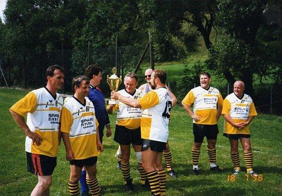 Alte Herren 1998 Turniersieger bei Kleinfeldturnier in Cornberg, Hessen