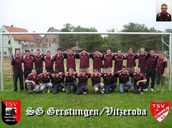 Die Erste Mannschaft 2007/2008