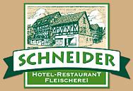 Hotel Restaurant Fleischerei Schneider